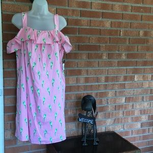 NWT Crown and Ivy cold shoulder sundress